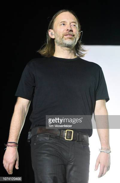 Thom Yorke performs during his Tomorrow's Modern Boxes tour at Bill Graham Civic Auditorium on December 15 2018 in San Francisco California