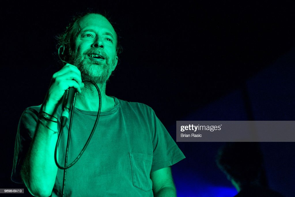 Thom Yorke Performs At The Roundhouse In London : News Photo