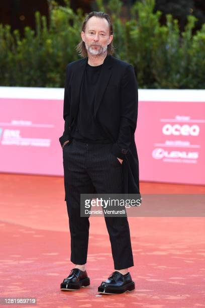 Thom Yorke walks the red carpet during the 15th Rome Film Festival on October 24, 2020 in Rome, Italy.
