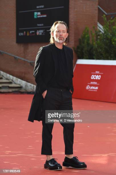 Thom Yorke walks the red carpet during the 15th Rome Film Festival on October 24 2020 in Rome Italy