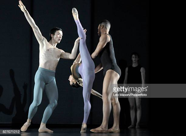 See the music Hear the Dance at Sadlers Wells London UK Outlier performed by the Wayne McGregor/Random Dance Company