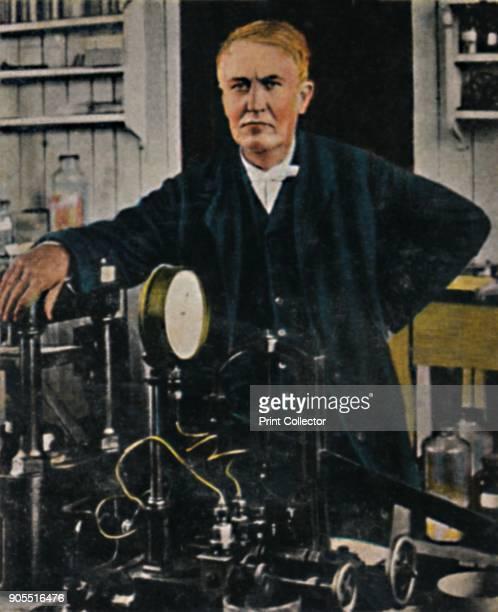 'Thomas Alba Edison 18471931' 1934 Thomas Alva Edison American inventor and businessman who has been described as America's greatest inventor He...