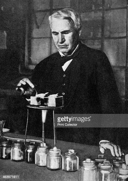 Thomas Alva Edison American inventor and businessman 1926 Edison developed many devices that greatly influenced life around the world including the...