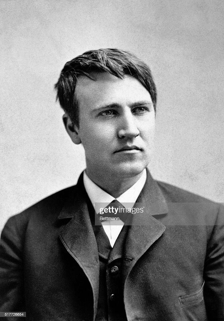 Thomas Edison : News Photo