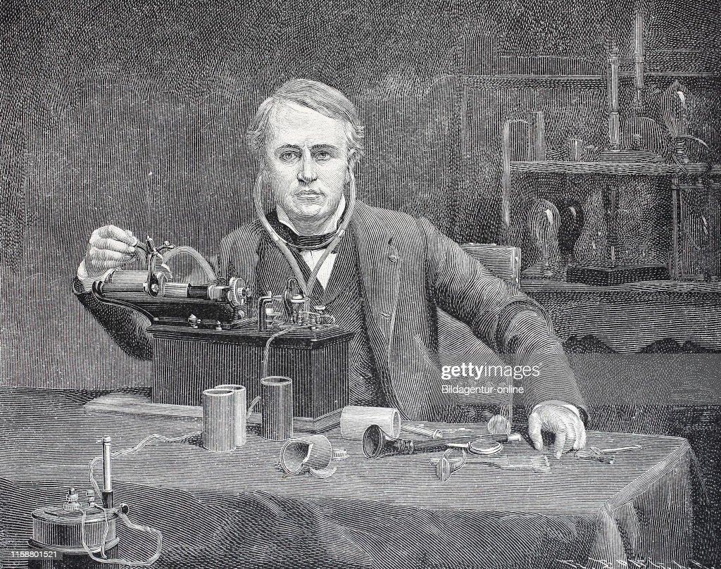 Thomas Alva Edison February 11 1847 ð October 18 American