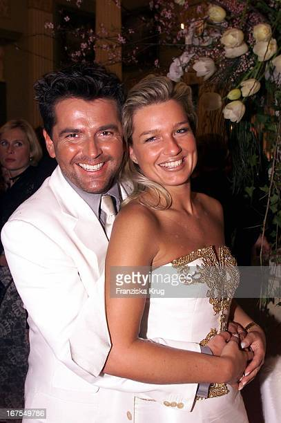 Thomas Anders Claudia Hess Bei Die Goldene Kamera 1999 In Berlin