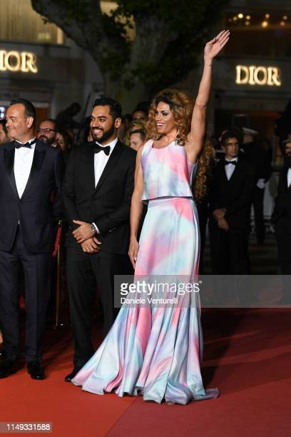 "Thomas Aquino and Silveiro Peirera attend the screening of ""Bacurau"" during the 72nd annual Cannes Film Festival on May 15, 2019 in Cannes, France."