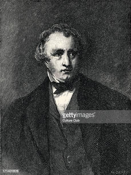 Thomas Babington Macaulay Portrait engraving of the English writer historian and politician 18001859