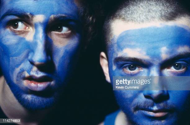 Thomas Bangalter and GuyManuel de HomemChristo of French electronic music duo Daft Punk circa 1995