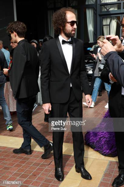 Thomas Bangalter from 'Daft Punk'is seen at le Majestic hotel during the 72nd annual Cannes Film Festival at on May 21 2019 in Cannes France