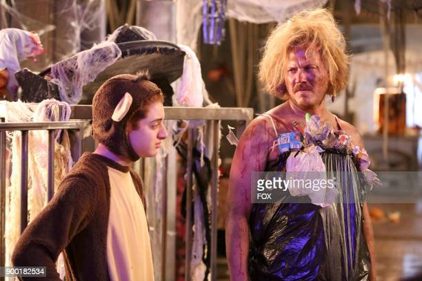 Thomas Barbusca and Scott MacArthur in the The Haunted House episode of THE MICK airing Tuesday Oct 17 on FOX