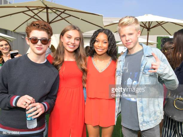 Thomas Barbusca Caitlin Carmichael Kyla Drew Simmons and Carson Lueders at The Elizabeth Glaser Pediatric AIDS Foundation's 28th annual 'A Time For...