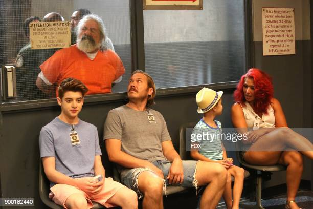 Thomas Barbusca Scott MacArthur and Jack Stanton in the The Visit episode of THE MICK airing Tuesday Oct 10 on FOX