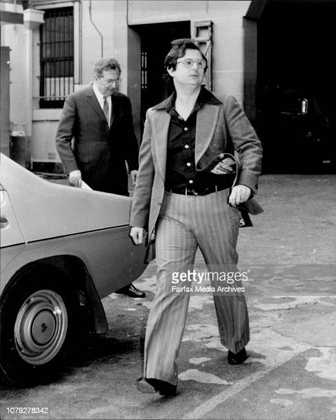 Thomas Barton leaves Central Court this morning with his father Mr Alexander Barton June 10 1978