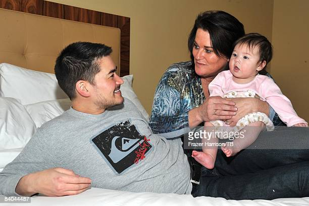 COVERAGE* Thomas Beatie Nancy Beatie and their daughter Susan Juliette Beatie pose for photos on November 17 2008 in Los Angeles California