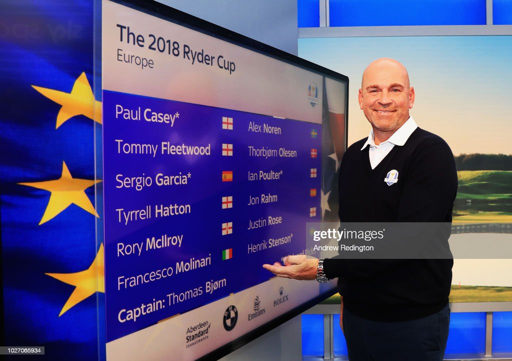 Ryder Cup Team Europe Wild Card Selection Announcement