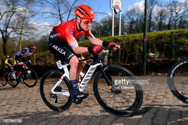 Thomas Boudat of France and Team Arkéa - Samsic during the 19th Bredene Koksijde Classic 2021 a 199km race from Bredene to Koksijde / Kemmelberg /...
