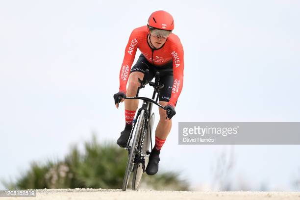 Thomas Boudat of France and Team Arkéa Samsic / during the 66th Vuelta a Andalucía - Ruta del Sol 2020, Stage 5 a 13km Individual Time Trial from...