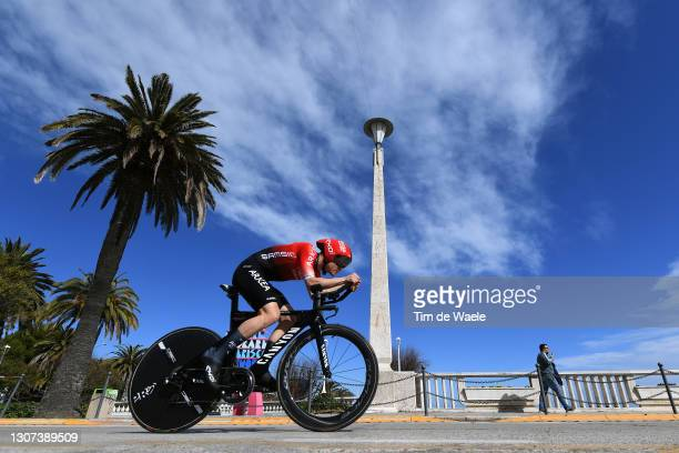 Thomas Boudat of France and Team Arkea - Samsic during the 56th Tirreno-Adriatico 2021, Stage 7 a 10,1km Individual Time Trial stage from San...