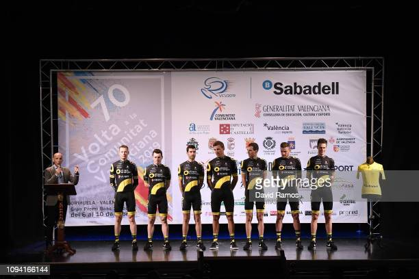 Thomas Boudat of France and Team Direct Energie / Damien Gaudin of France and Team Direct Energie / Fabien Grellier of France and Team Direct Energie...