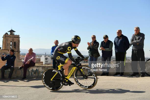 Thomas Boudat of France and Team Direct Energie / during 70th Volta a la Comunitat Valenciana 2019 - Stage 1 a 10,2km Individual Time Trial stage...