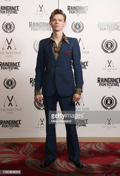 Thomas Brodie attends the Stardust Opening Film UK Premiere during the 28th Raindance Film Festival at The May Fair Hotel on October 28 2020 in...