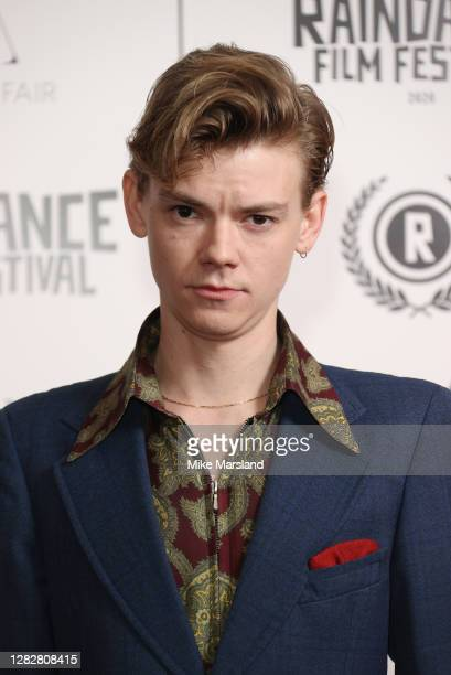 """Thomas Brodie attends the """"Stardust"""" Opening Film & UK Premiere during the 28th Raindance Film Festival at The May Fair Hotel on October 28, 2020 in..."""