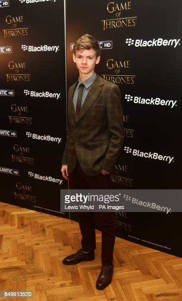 Thomas Brodie Sangster at a screening of the first episode of series 3 of Game of Thrones, in London.