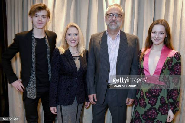 Thomas BrodieSangster Anna Smith Rich Kline and Morfydd Clark attend the London Critics Circle Film Awards 2018 Nominations at The May Fair Hotel on...