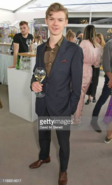 Thomas Brodie-Sangster attends The Gentleman's Journal Summer Party at Masterpiece London on July 2, 2019 in London, England.