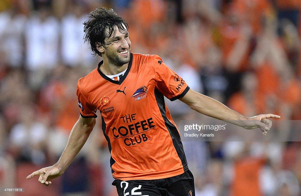 A-League Rd 21 - Brisbane Roar v Perth Glory : News Photo