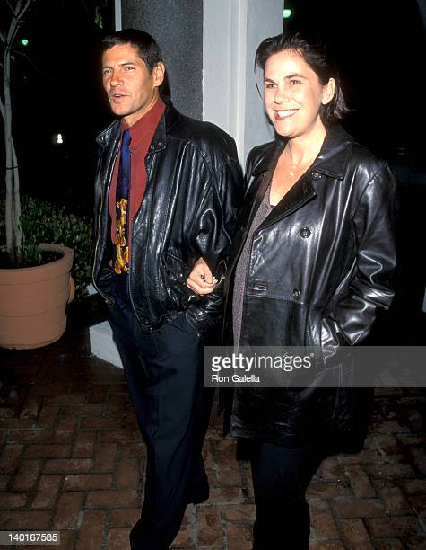 Thomas Calabro and Elizabeth Pryor at the Final Wrap Party for 'Melrose Place', The Century Club, Century City.