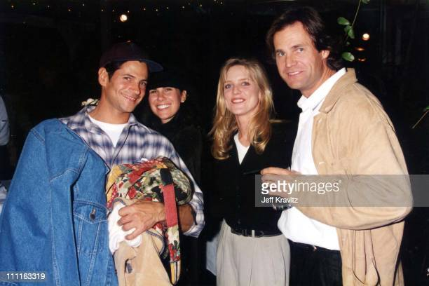 Thomas Calabro Courtney Thorne Smith during 1996 Fox TCA in Los Angeles California United States