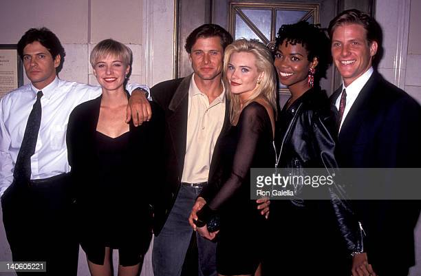 Thomas Calabro Josie Bissett Grant Show Amy Locane Vanessa Williams and Doug Savant at the FOX Television Party for New Fall Season Museum of Natural...