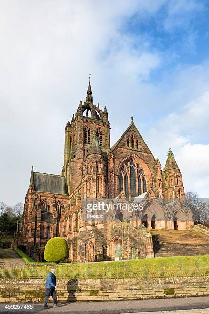 thomas coats memorial church, paisley - theasis stockfoto's en -beelden