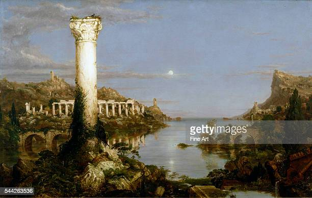 Thomas Cole The Course of Empire Desolation oil on canvas 395 × 635 in New York Historical Society New York