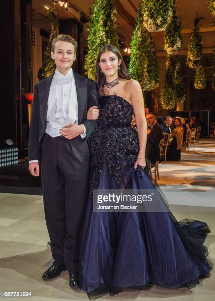 Thomas Coleridge and Natalia Fares are photographed for Vanity Fair Magazine on November 28 2015 at the Palais de Chaillot in Paris France PUBLISHED...