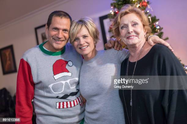 Thomas Collabro Mary Beth Evans and Judith McConnell attend The Bay Ugly Sweater And Secret Santa Christmas Party at Private Residence on December 12...