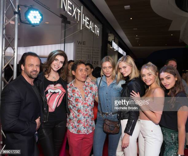 Thomas Connelly DDS Julia Lescova Celebrity Aesthetican John Tew Anastassija Makarenko Olga Cerpita Kristin Angst and Clara Wilsey attend the Next...