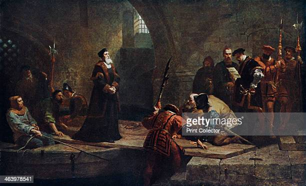 'Thomas Cranmer at the Traitor's Gate' 1926 Cranmer was the archbishop of Canterbury during the reigns of the English kings Henry VIII and Edward VI...