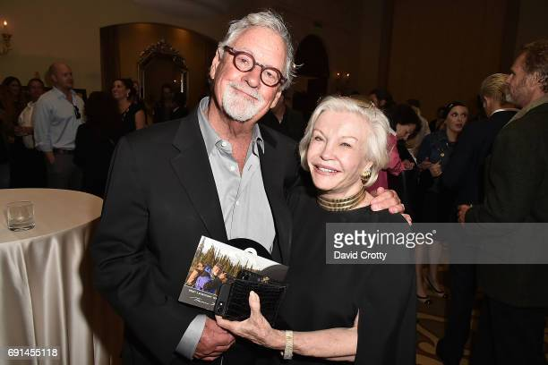 Thomas D Mangelsen and Guest attend the Elephant Action League Los Angeles Benefit Auction at The Montage on June 1 2017 in Beverly Hills California