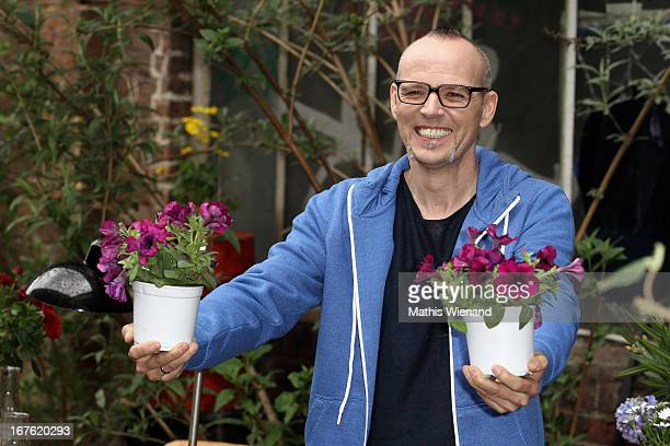 Thomas D presents his new TV-Show 'Wissen vor acht - Natur' at das Erste on April 26, 2013 in Cologne, Germany.