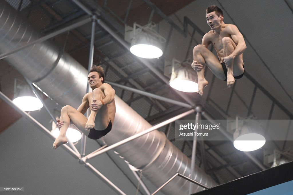 FINA Diving World Series - Fuji Day 1 : News Photo