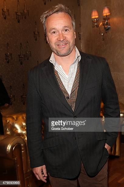 Thomas Darchinger attends the NDF After Work Presse Cocktail at Parkcafe on March 19 2014 in Munich Germany