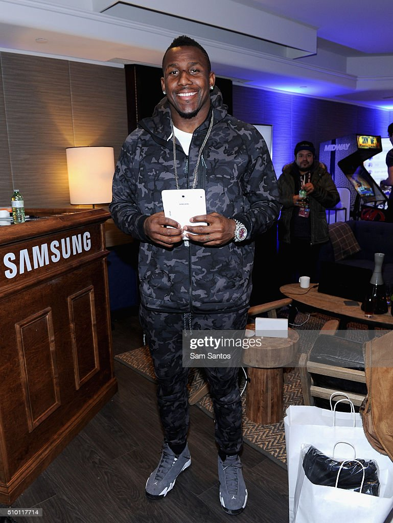 Thomas Davis at the Samsung Galaxy Lounge during NBA All-Star 2016 on February 13, 2016 in Toronto, Canada.