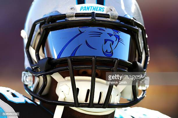 Thomas Davis of the Carolina Panthers warms up prior to playing in Super Bowl 50 at Levi's Stadium on February 7 2016 in Santa Clara California