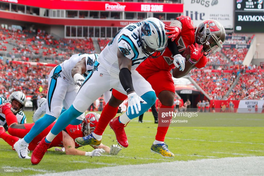 NFL: DEC 02 Panthers at Buccaneers : News Photo