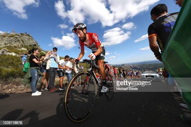 Thomas De Gendt of Belgium and Team Lotto Soudal / Alto de la Camperona / Fans / Public / during the 73rd Tour of Spain 2018, Stage 13 a 174,8km...