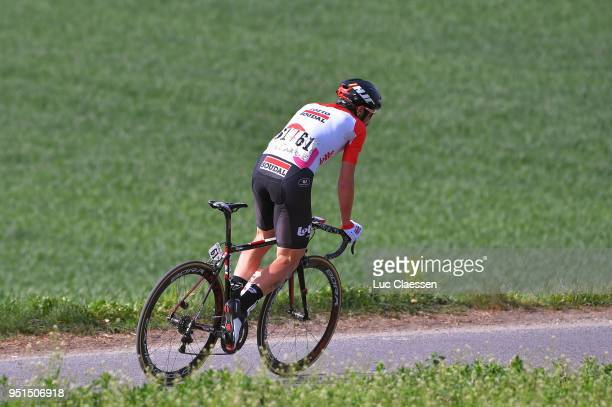 Thomas De Gendt of Belgium and Team Lotto Soudal / during the 72nd Tour de Romandie 2018 Stage 2 a 1739km stage from Delemont to YverdonlesBains on...
