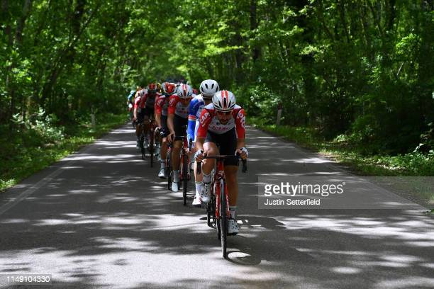 Thomas De Gendt of Belgium and Team Lotto Soudal / Peloton / during the 102nd Giro d'Italia 2019, Stage 4 a 235km stage from Orbetello to Frascati...